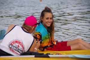 Paddle race Arcachon