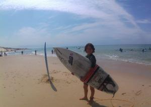 Surfeur Biscarrosse