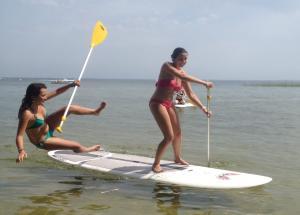 Paddle y piragua
