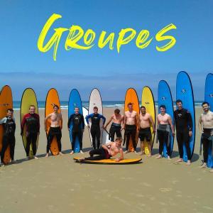 Surfez avec votre groupe