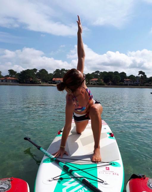 yoga paddle avec So Yoga - Arcachon