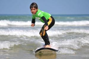 Kids surf Biscarrosse