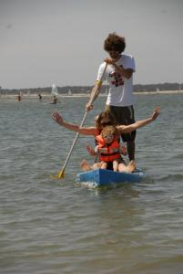 Stand up paddle parents enfants