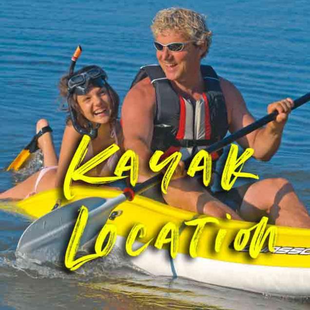 kayak location