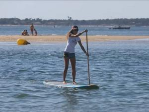 stand up paddle Arcachon club