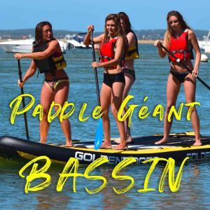 paddle géant  bassin