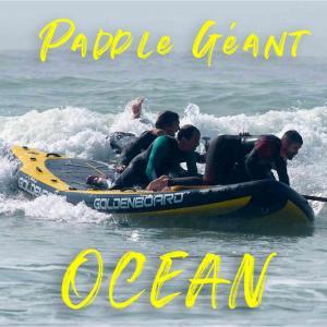 paddle géant océan